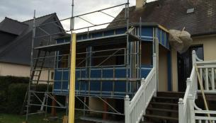 travaux d'extension maison Rennes